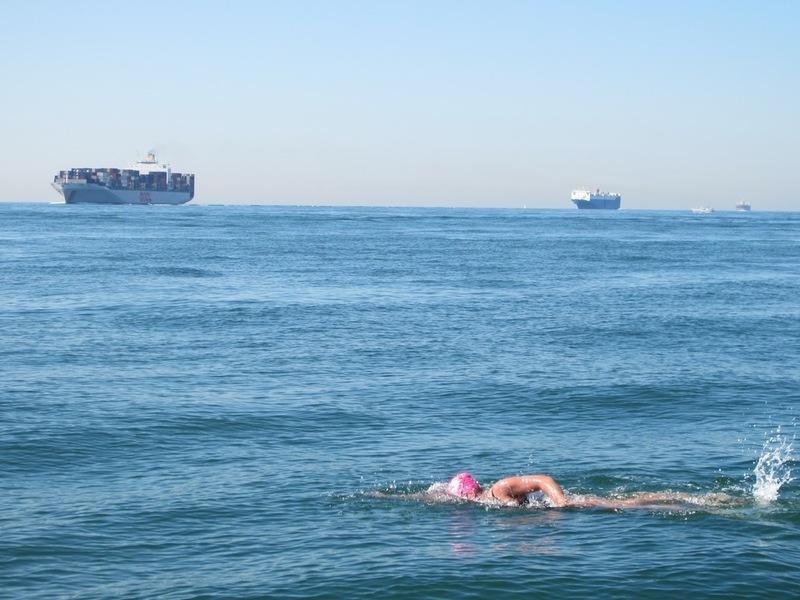Channel swim small