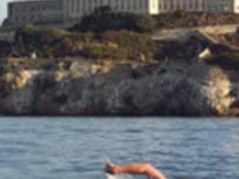 Simons alcatraz swim crossing small