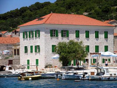 Hotel maestral  dalmatian coast  small