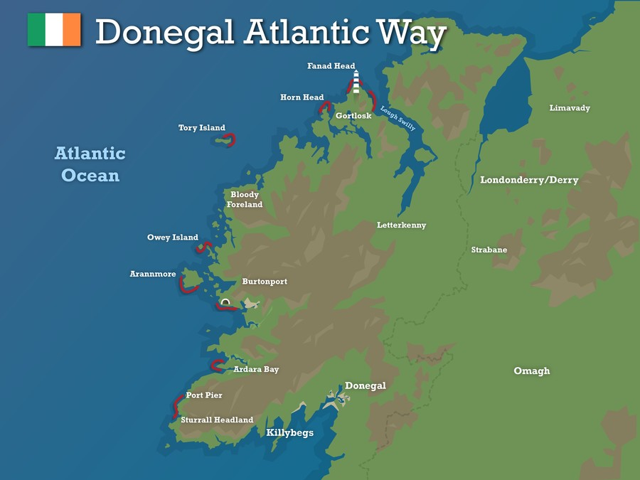 Donegal atlantic way updated