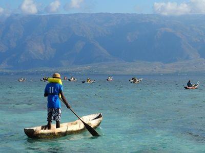 Haiti swim