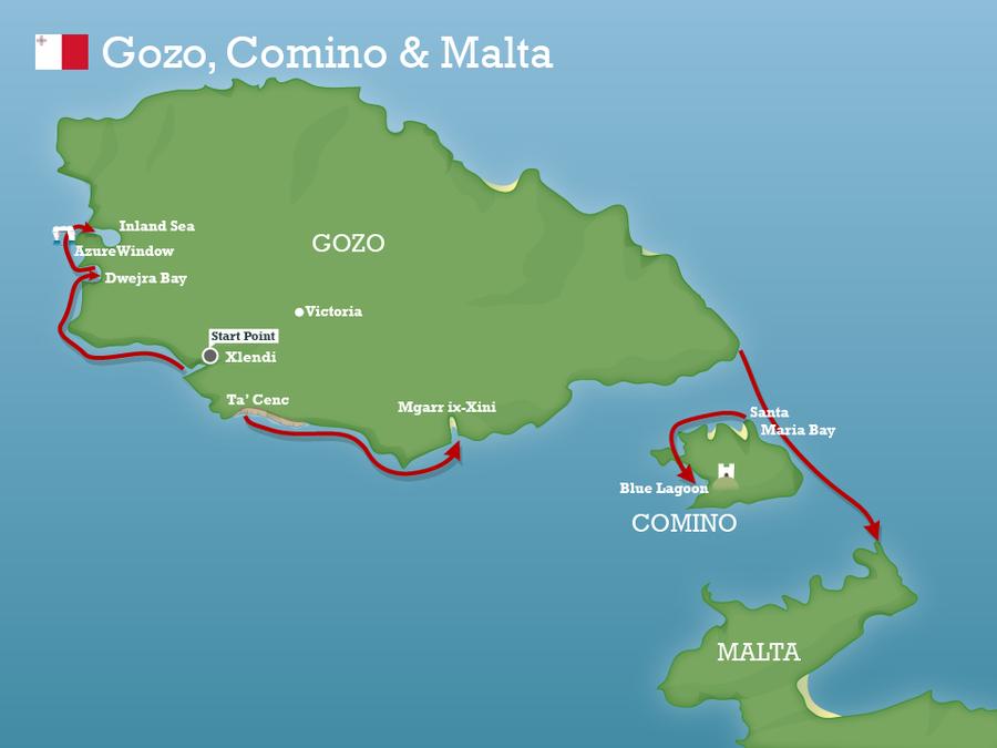 Gozo camino malta