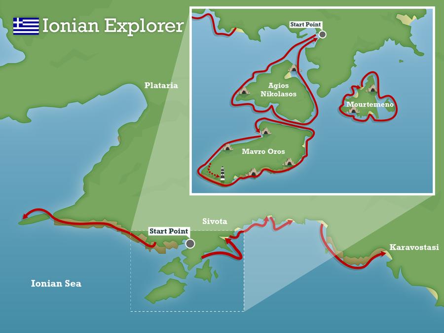 Ionian explorer greece