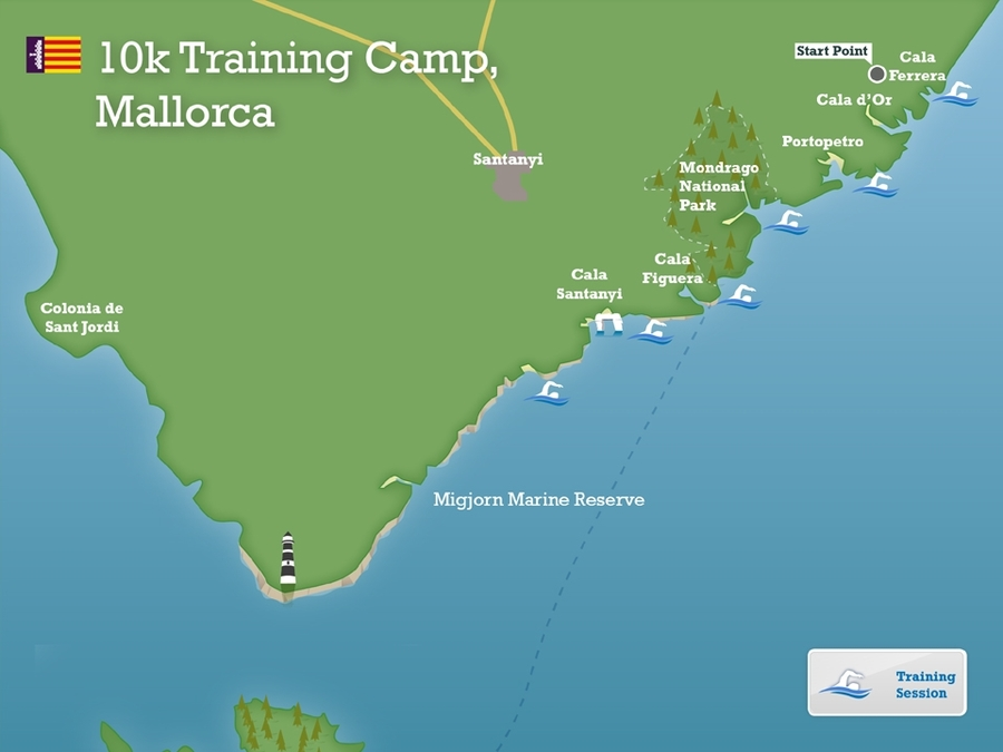 10km training camp mallorca