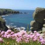 Three coasts of cornwall