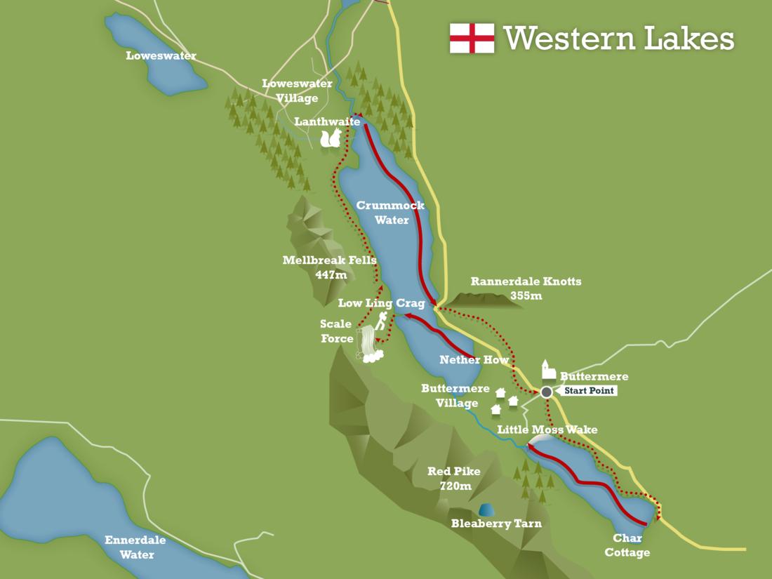 Western lakes