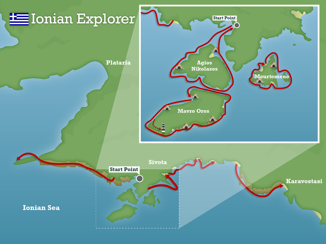 Ionian explorer greece