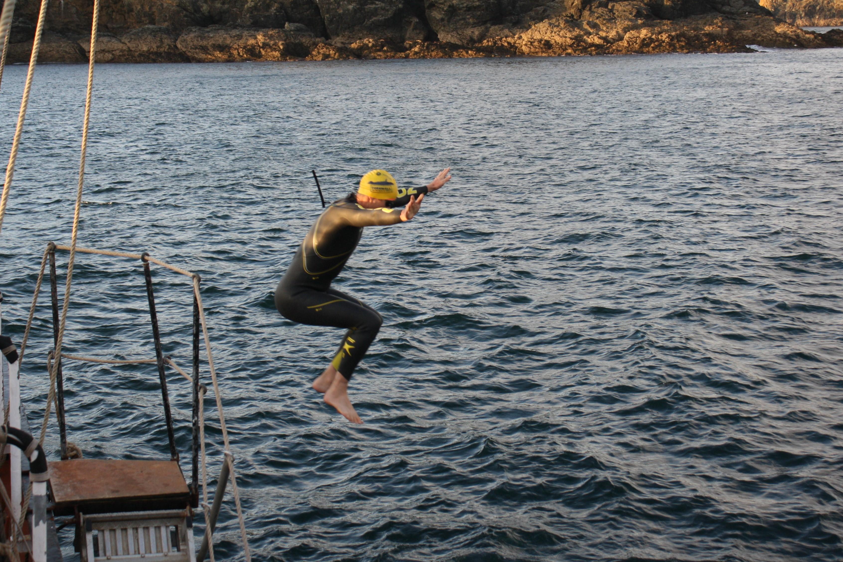 SwimTrek - Cold Water Jump