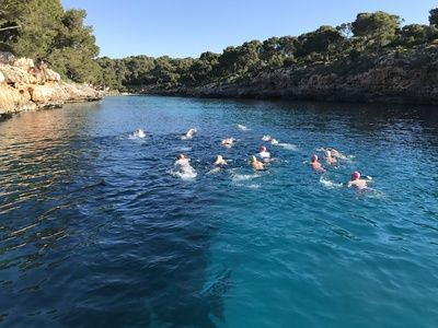 Channel and long distance training   mallorca  search image