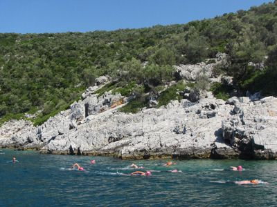 Kornati islands long swims croatia search image