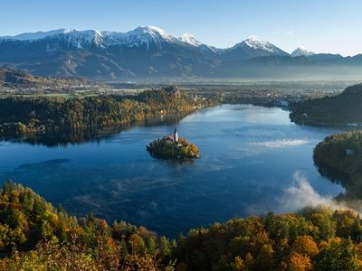 Lake bled and the slovenian alps 3  search image