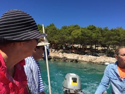 Swimtrekker viki in the dalmatian coast  croatia small