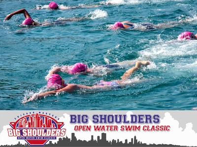 Big shoulders swim small