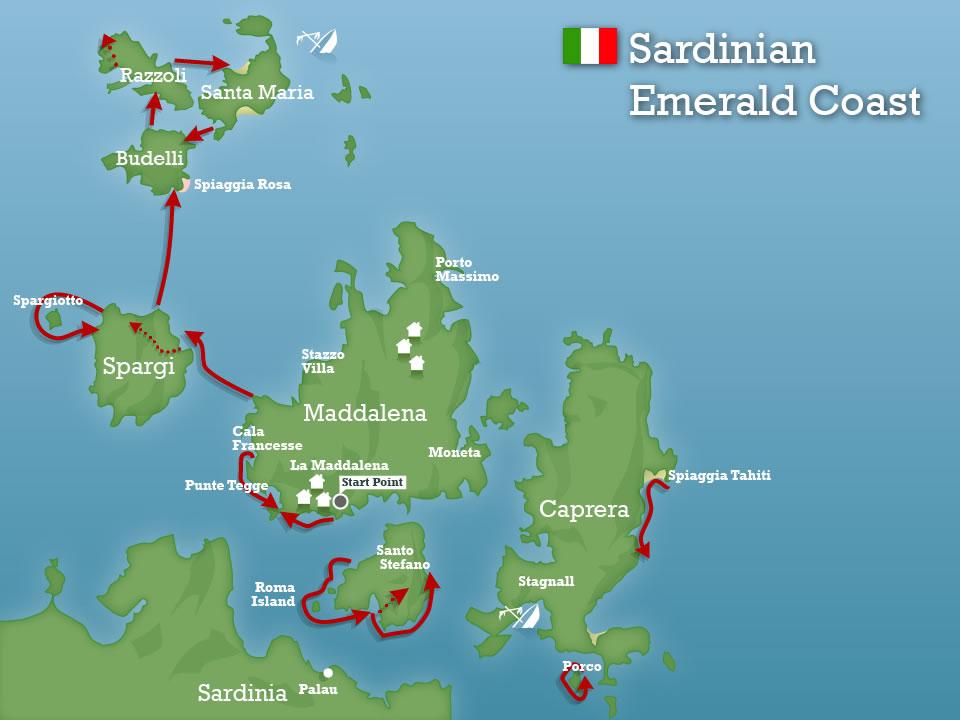 Emerald coast sardinia