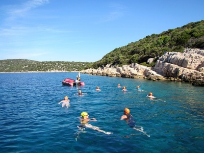 Dalmatian coast short swims croatia small