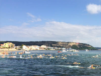 Hellespont and dardanelles swim small
