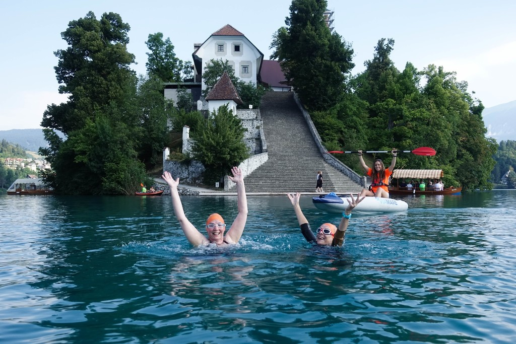 Swim Holidays Slovenia Lake Bled Slovenian Alps Swimtrek