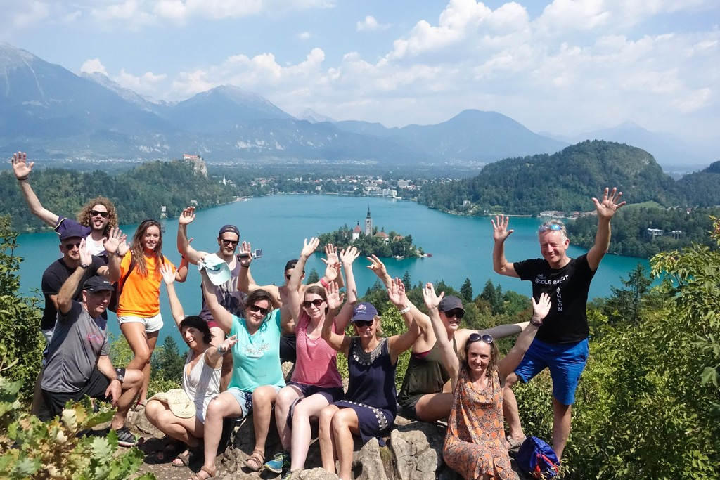 swimming holidays slovenia lake bled slovenian alps swimtrek
