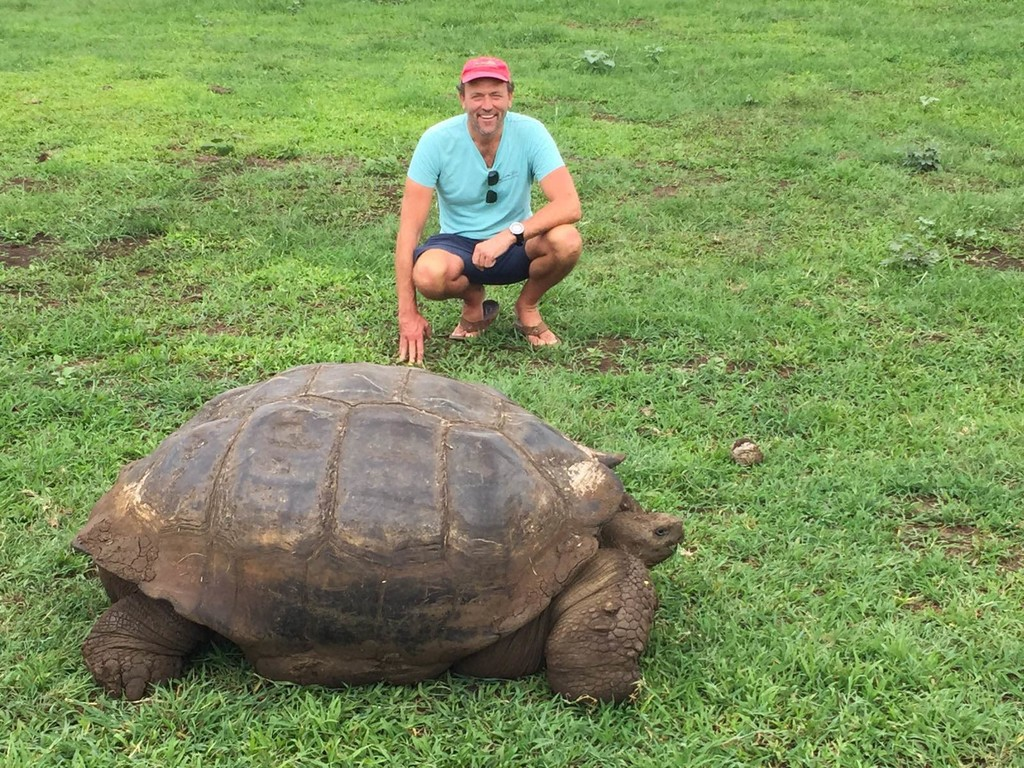 swimming holidays galapagos islands swimtrek
