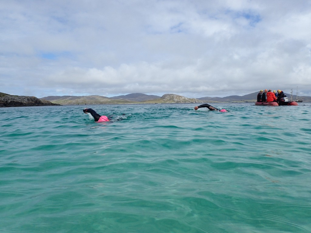 swimming holidays outer hebrides scotland | swimtrek
